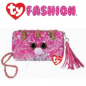 Ty Fashion (Malaysia Official) Sequins Square Purse Fantasia the Pink Unicorn Accessories Bags