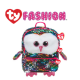 Ty Fashion (Malaysia Official) Sequins Backpack (Large) Owen The Multicolor Owl Accessories Bags