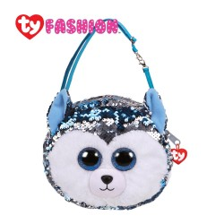 Ty Fashion (Malaysia Official) Sequins Sling Purse Slush The Husky Accessories Bags