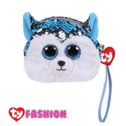 Ty Fashion (Malaysia Official) Sequins Wristlet Slush the Husky Accessories Bags