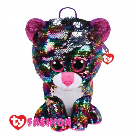 Ty Fashion (Malaysia Official) Sequins Backpack Dotty The Multicolor Leopard Accessories Backpacks