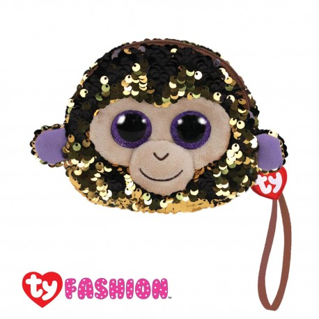 Ty Fashion (Malaysia Official) Sequins Wristlet Coconut the Monkey Accessories Bags