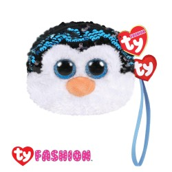 Ty Fashion (Malaysia Official) Sequins Wristlet Waddles the Penguin Accessories Bags