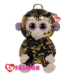 Ty Fashion (Malaysia Official) Sequins Backpack (Large) Coconut The Monkey Accessories Bags