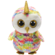 Ty Plush Toys (Malaysia Official)  Beanie Boos Clip, Regular and Medium  Enchanted the Owl with Horn  Soft Toys Gift Ide