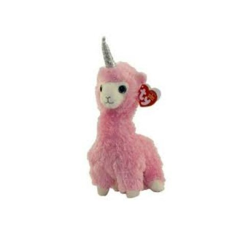 Ty Plush Toys (Malaysia Official)  Beanie Boos Clip and Regular  Lana the Pink Llama  Soft Toys Gift Ideas For Girls Boy