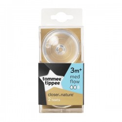 'Tommee Tippee  Closer To Nature Bottle Teat - Medium Flow'
