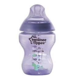 'Tommee Tippee Tinted Bottle 260ml/9oz (Purplish)'
