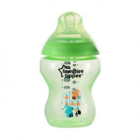 'Tommee Tippee Tinted Bottle 260ml/9oz (Green)'