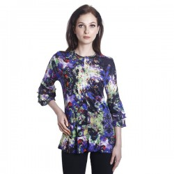 Fabulous Mom Butterfly Garden Blouse