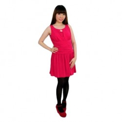 'Fabulous Mom Little Pink Nursing Dress'