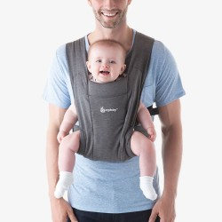 Ergobaby Embrace Cozy Newborn Baby Carrier (Heather Grey)