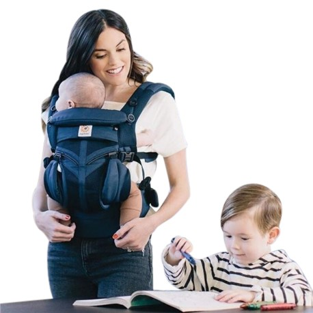 Ergobaby Omni 360 Baby Carrier Cool Air Mesh (Assorted) + FREE Gift