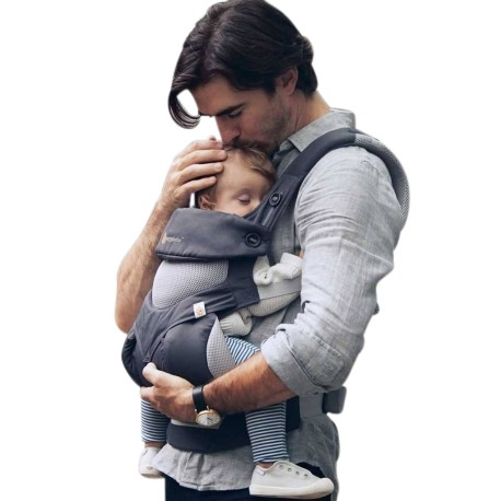 Ergobaby Carrier Performance 360 (Cool Air Carbon Grey) + FREE Gift