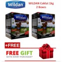 Wildan Goat's Milk (Chocolate) 1kg - 2 Boxes with (Free Gift)