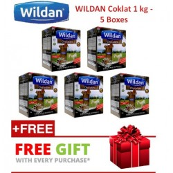 Wildan Susu Kambing (Chocolate) 1kg - 5 Boxes