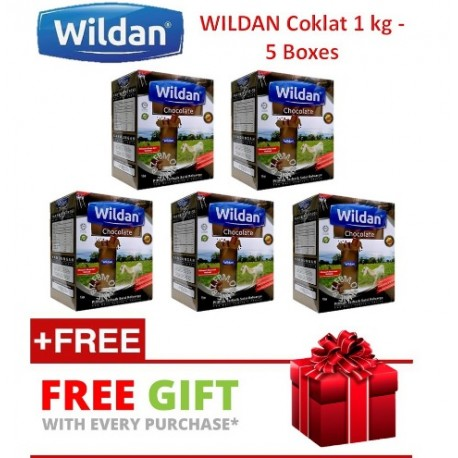 Wildan Goat's Milk (Original)/Coklat 1 kg 3 Boxes with (Free Gift)