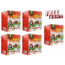 Habib Susu Kambing Extra Asli Super - 5boxes with Free Exclusive Gift