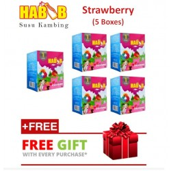 Habib Susu Kambing Strawberry (5boxes)