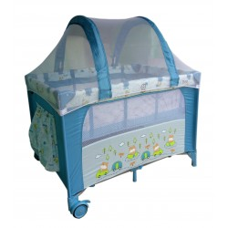 Bumble Bee 2 Levels Bassinet Playpen with FREE NATURAL LATEX MATTRESS worth RM199.90