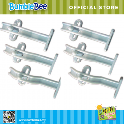 Bumble Bee Double Safety Lock Twin Pack - 3 pcs/pac