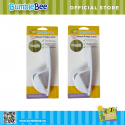 Bumble Bee Baby Safe Deluxe Fridge Latch Twin Pack