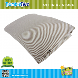 Bumble Bee Fitted Crib Sheet (Knit Fabric)