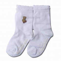 Bumble Bee 2 Pair Pack My Toy Bear Socks (S0056)