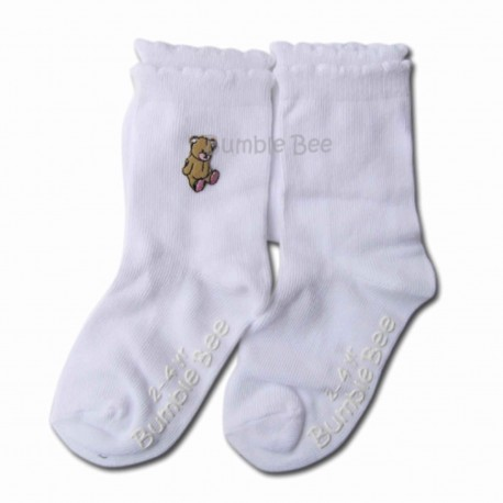 Bumble Bee 2 Pair Pack My Toy Bear Socks