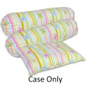 Bumble Bee Pillow and Bolster Set Extra Covers  - (Lovely Garden)