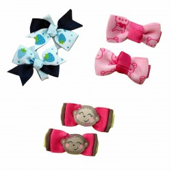 Bumble Bee Elegant Hair Clips (3 packs)