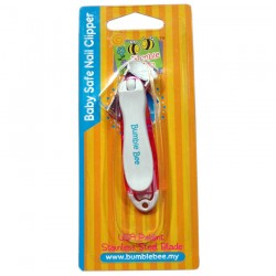 Bumble Bee Baby Safe Nail Clipper-PINK
