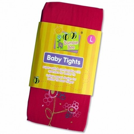 Bumble Bee Sweet Pink Flower Tights