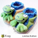 Bumble Bee Cute & Fun Animal Rattle Booties-Frog