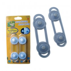 Bumble Bee Multi Purpose Latch (10cm) Twin Pack - 2 pcs/pack
