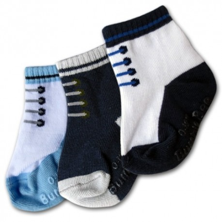 Bumble Bee 3 Pairs Pack Shoelike Socks