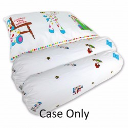 Bumble Bee Pillow and Bolster Set Extra Covers - (Cookie the Horse)