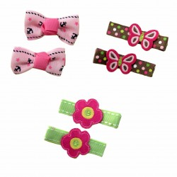 Bumble Bee Elegant Hair Clips (3 packs)  Design4