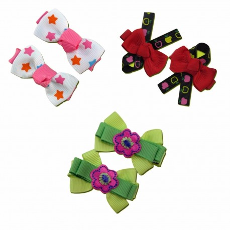 Bumble Bee Elegant Hair Clips (3 packs)  Design 10