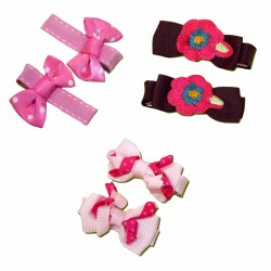 Bumble Bee Elegant Hair Clips (3 packs)  Design 11