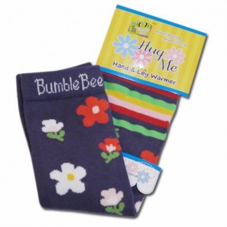 Bumble Bee Hand & Leg Warmers - Dancing Flowers (HLM0005)