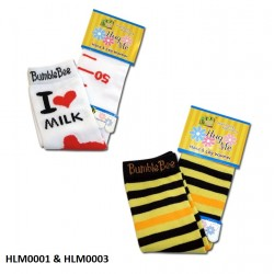 Bumble Bee Hand & Leg Warmers (2 packs) (HLM0001 & HLM0003)