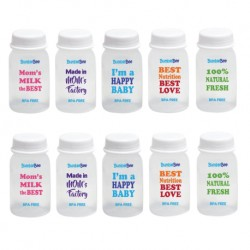 Bumble Bee 10pcs PP Breastmilk Storage Bottle (Printed)