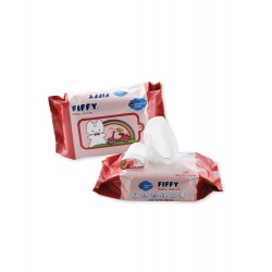 FIFFY Baby Wipes Fragrance Free (30's x 2) -19468420