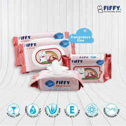 'FIFFY Fragrance Free Baby Wipes  Value Pack - 19468940'