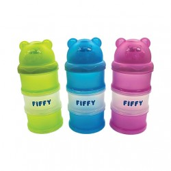 FIFFY Three Compartments Milk Powder Container - 98-996