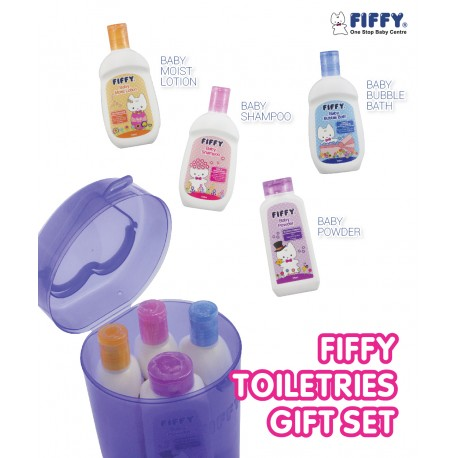 Fiffy Toiletries Gift Set (4 Bottles)
