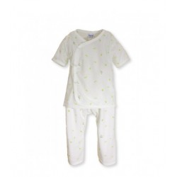 Fiffy Short Sleeve Vest Suit (Newborn) -65194