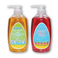Fiffy Twin Pack Baby Shampoo and Bath (750ml) (Mix) - 19469245
