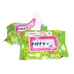 FIFFY Hygienic Wipes (30's x 2pkts) - 98-110